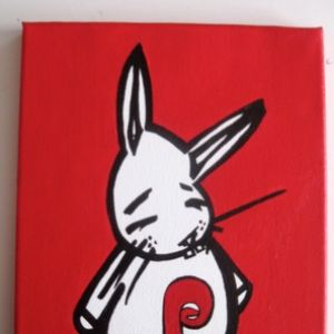 Phills Bunny painting